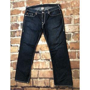 True Religion Mens Fashionable Denim Jeans Size 38